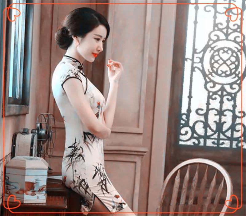 (旗袍美图与美乐)十大葫芦丝名曲,听得心旷神怡  音乐中心 185925llqnj3wjzjshuzqi